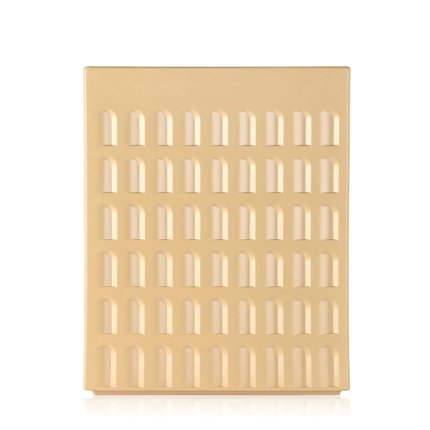 Taburet Kartell EUR design Fabio Novembre, 45x36x36cm, gri-maro