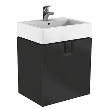 Dulap baza Kolo Twins 60 cm cu un sertar, negru mat