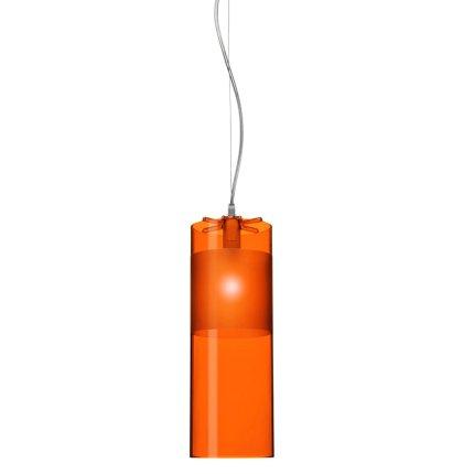 Suspensie Kartell Easy design Ferruccio Laviani, d13cm, orange