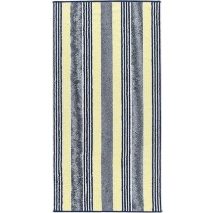 Prosop baie Cawo Maritime Stripes 70x140cm, 15 galben