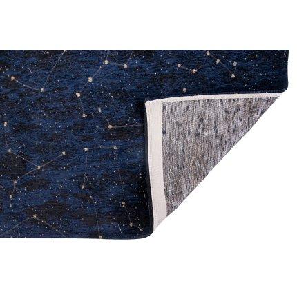 Covor Christian Fischbacher Celestial, colectia Neon, 140x200cm, Midnight Blue