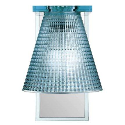 Aplica Kartell Light Air design Eugeni Quitllet, 21x14x17cm, bleu