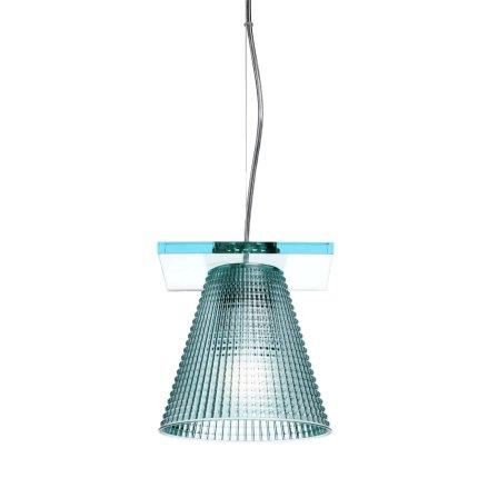 Suspensie Kartell Light Air design Eugeni Quitllet, d14cm, bleu