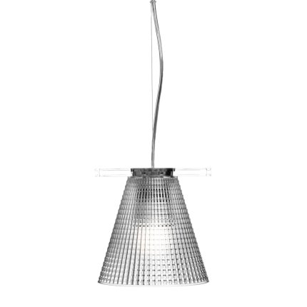 Suspensie Kartell Light Air design Eugeni Quitllet, d14cm, transparent