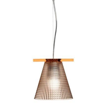 Suspensie Kartell Light Air design Eugeni Quitllet, d14cm, roz