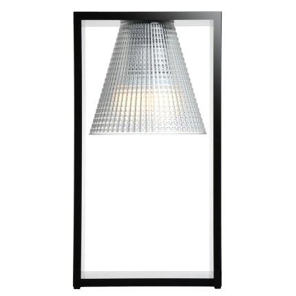 Veioza Kartell Light Air design Eugeni Quitllet, 32x17x14cm, negru transparent
