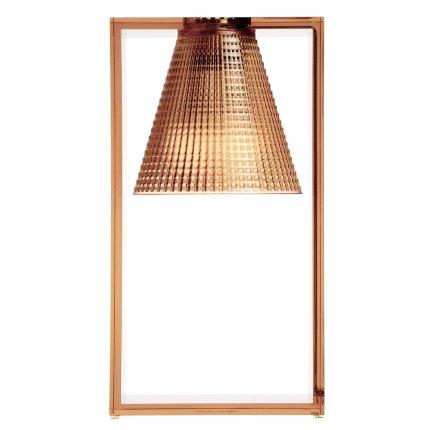 Veioza Kartell Light Air design Eugeni Quitllet, 32x17x14cm, roz transparent