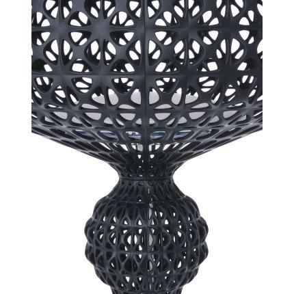 Lampadar Kartell Kabuki Outdoor design Ferruccio Laviani, dimmer, IP44, LED 25W, h166cm, negru opac