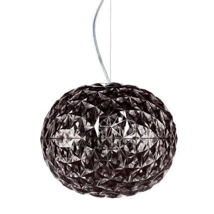 Suspensie Kartell Planet design Tokujin Yoshioka, LED, d31cm, h27cm, fumuriu