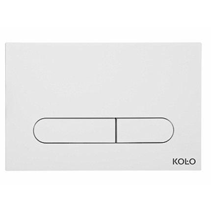 Clapeta dubla actionare Kolo alb pentru cadru Slim 2