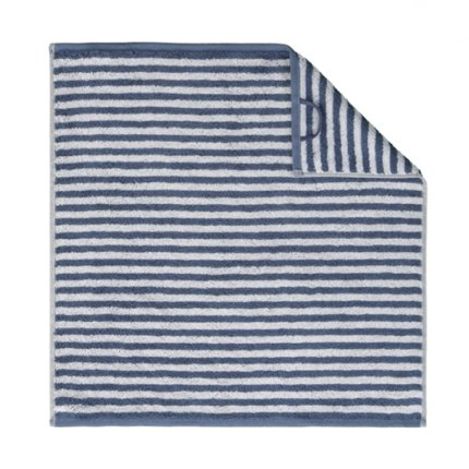 Prosop de bucatarie Cawo Cuisine Campus Stripes 50x50cm, 17 albastru inchis