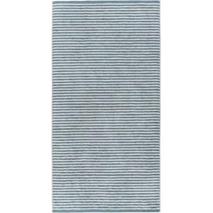 Prosop baie Cawo Campus Stripes 70x140cm, 47 albastru petrol