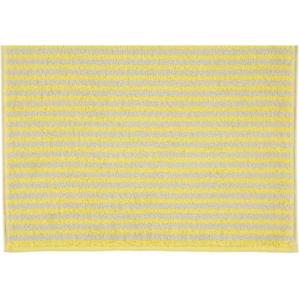 Prosop baie Cawo Campus Stripes 50x100cm, 57 galben lemon