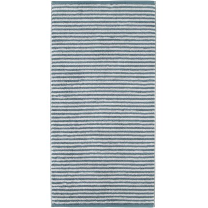 Prosop baie Cawo Campus Stripes 50x100cm, 47 albastru petrol