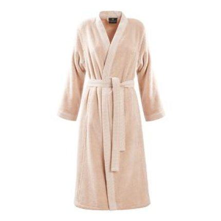 Halat de baie kimono Descamps Prestigieuse, XL, Dune