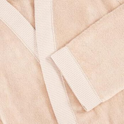 Halat de baie kimono Descamps Prestigieuse, S, Dune