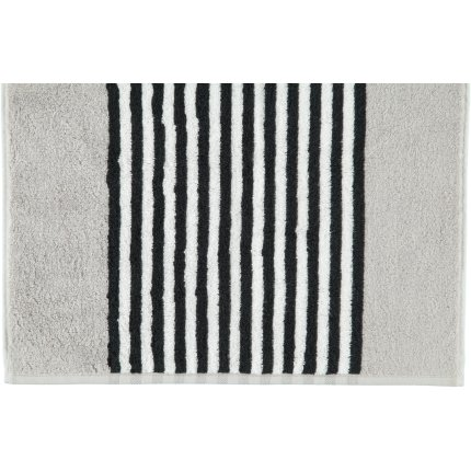 Prosop baie Cawo Black & White Stripes 50x100cm, 76 argintiu