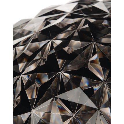 Lampadar Kartell Planet design Tokujin Yoshioka, LED, d31cm, h160cm, fumuriu