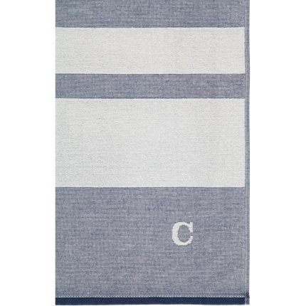 Prosop plaja Cawo Denim Stripes 80x200cm, 16 Albastru