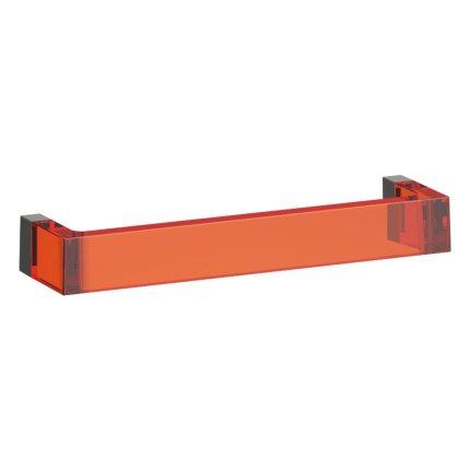 Suport prosop Kartell by Laufen Rail design Ludovica & Roberto Palomba, 30cm, portocaliu
