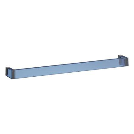 Suport prosop Kartell by Laufen Rail design Ludovica & Roberto Palomba, 60cm, albastru