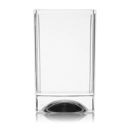 Suport periute dinti Kartell Boxy design Ludovica & Roberto Palomba, transparent