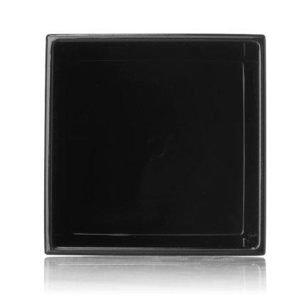 Suport periute dinti Kartell Boxy design Ludovica & Roberto Palomba, negru mat