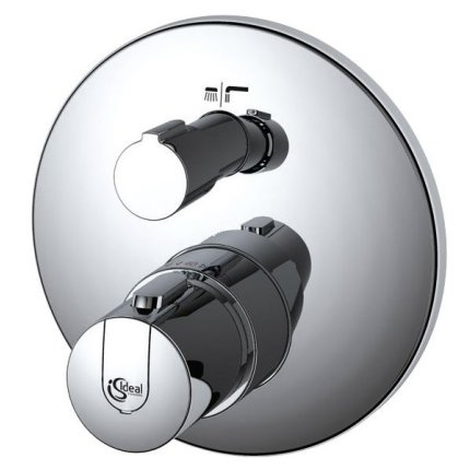 Baterie cada termostatata Ideal Standard Ceratherm 100 New montaj incastrat, necesita corp ingropat