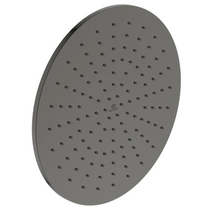 Palarie de dus Ideal Standard Ideal Rain Round 300x300, gri magnetic