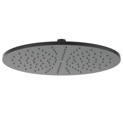 Palarie de dus Ideal Standard IdealRain 300mm metalica, negru mat