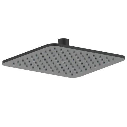 Palarie de dus Ideal Standard IdealRain Square 200mm metalica, negru mat