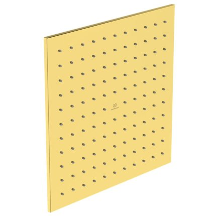 Palarie de dus Ideal Standard Ideal Rain Square 300x300, auriu periat