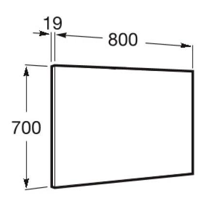 Oglinda Roca Victoria-N 80x70cm