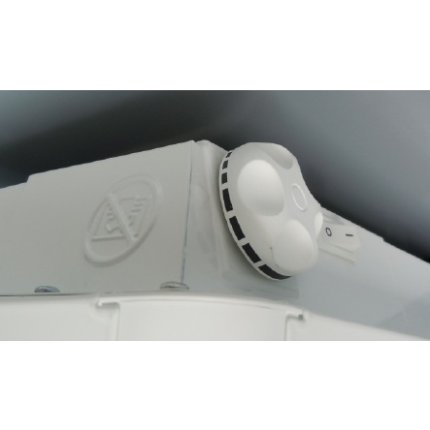 Convector electric Atlantic Bonjour 2500W, termostat electromecanic, protectie la supraincalzire