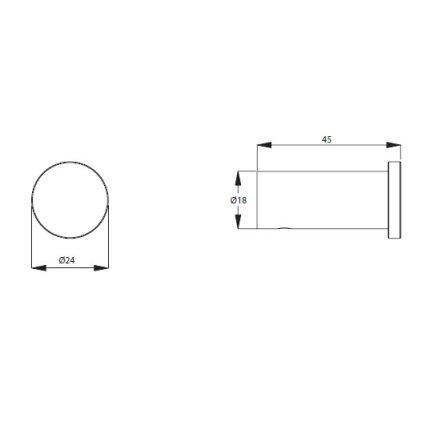 Agatatoare simpla Ideal Standard Connect