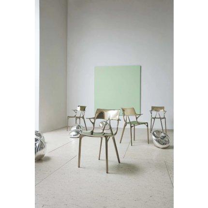 Scaun Kartell A.I. design Philippe Starck, bronz