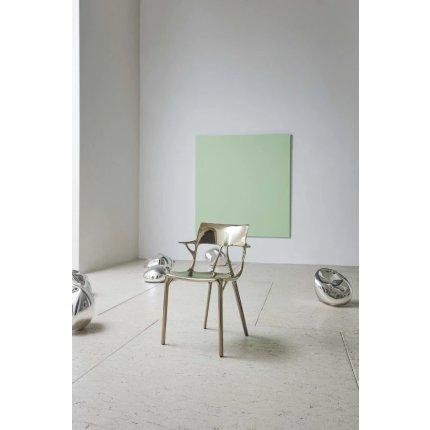 Scaun Kartell A.I. design Philippe Starck, titanium