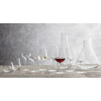 Decantor vin rosu Zwiesel Glas Air Sense, design Bernadotte & Kylberg, handmade, 1500ml