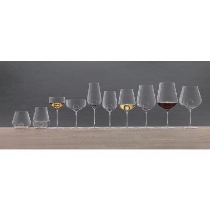 Pahar vin alb Zwiesel Glas Air Sense Chardonnay, design Bernadotte & Kylberg, handmade, 441ml