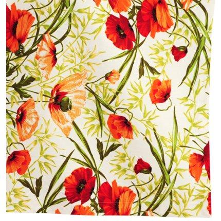 Husa perna Sander Prints Alvor 40x40cm, bumbac 100%, 1 Red
