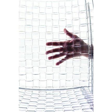 Scaun Kartell Ami Ami design Tokujin Yoshioka, gri transparent