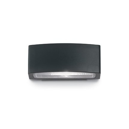 Aplica de exterior Ideal Lux Andromeda AP1, 1x60W, 22x8.5cm, negru
