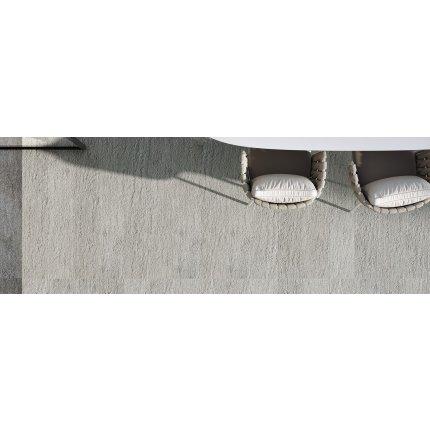 Gresie portelanata rectificata FMG Pietre Quarzite 30x60cm, 10mm, Antracite Strutturato
