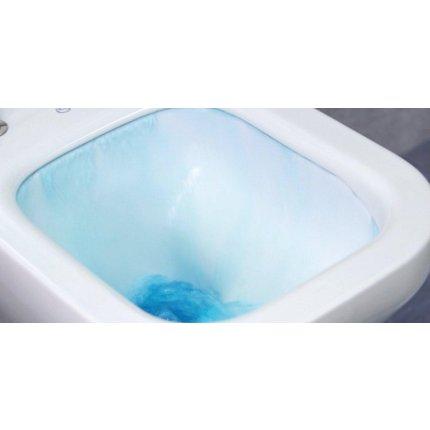Set vas WC suspendat Ideal Standard Tesi Aquablade cu capac inchidere normala, rezervor incastrat Geberit Duofix Delta PLUS cu clapeta Delta 21 crom