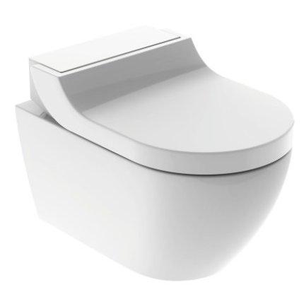 Capac WC Geberit AquaClean Tuma Comfort cu inchidere lenta, functie bideu electric