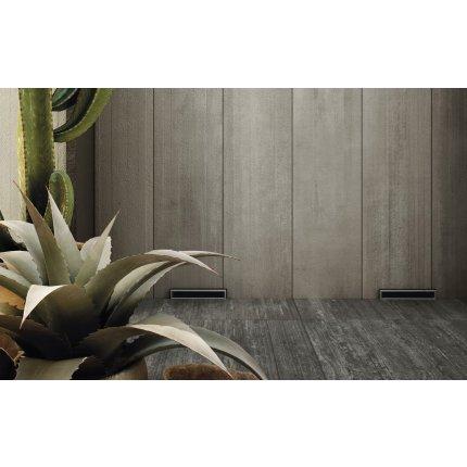 Gresie portelanata rectificata Diesel living Arizona Concrete Rough 60x30cm, 9mm, Antracite