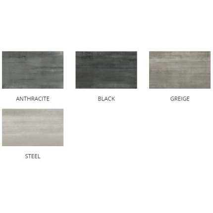 Gresie portelanata rectificata Diesel living Arizona Concrete Smooth 60x30cm, 9mm, Antracite