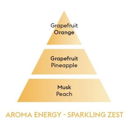 Difuzor parfum camera Berger Aroma Energy Zestes Toniques180ml