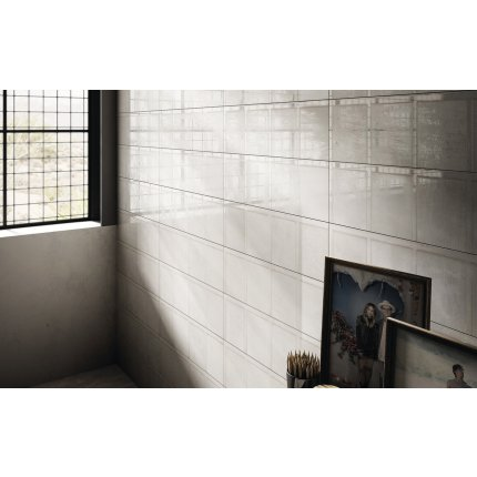 Faianta Diesel living Ribbed 60x20cm, 7mm, Ash Wall