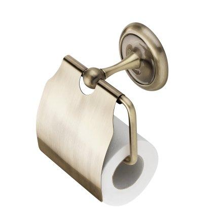 Suport hartie igienica Casablanca Retro Bronz